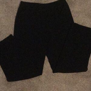 Emma James by Liz Claiborne black slacks size 12L